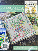 Summer House Stitche Workes - Ladies Garden Journal 5 - Johnny Jump-Up THUMBNAIL