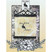 Cross Stitch Antiques - Antique Stitcher Silhouette THUMBNAIL