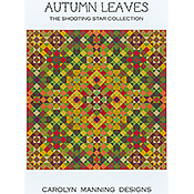 Carolyn Manning Designs - The Shooting Star Collection - Autumn Leaves THUMBNAIL