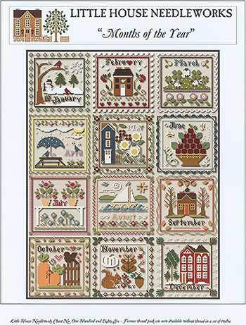 Little House Needleworks - Months of the Year MAIN