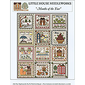 Little House Needleworks - Months of the Year THUMBNAIL