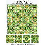 Carolyn Manning Designs - The Shooting Star Collection - Peridot THUMBNAIL