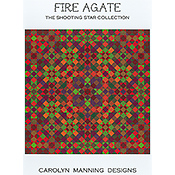 Carolyn Manning Designs - The Shooting Star Collection - Fire Agate THUMBNAIL