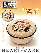 Heart In Hand Needleart  - Creeping It Round THUMBNAIL
