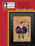 Heart In Hand Needleart  - Wee Santa 2020 THUMBNAIL