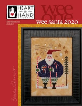 Heart In Hand Needleart  - Wee Santa 2020 MAIN