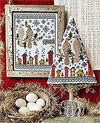 Hello from Liz Matthews - Second Day of Christmas Sampler & Tree THUMBNAIL