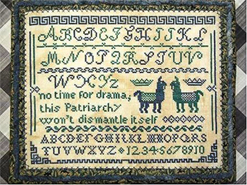 Bendy Stitches - Drama Llama Sampler MAIN