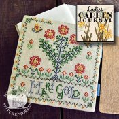 Summer House Stitche Workes - Ladies Garden Journal 6 - Mari Gold THUMBNAIL