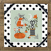Tiny Modernist - Mouse's Halloween Stitching THUMBNAIL