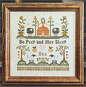 Little House Needleworks - Bo Peep and Her Sheep THUMBNAIL