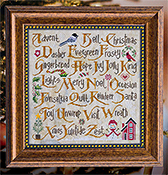 Cottage Garden Samplings - Christmas Sampler II THUMBNAIL