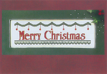 Kays Frames & Designs - Merry Christmas - Traditional MAIN