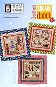 Heart in Hand Needleart - Christmas Square Dance 4 THUMBNAIL