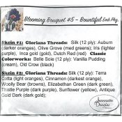Jeannette Douglas Designs - Blooming Bouquets #5 Bountiful Embellishment Pack THUMBNAIL