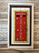 Needle Bling Designs - Porch Pillows - Merry Christmas THUMBNAIL