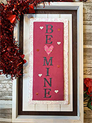 Needle Bling Designs - Wall Decor - Be Mine THUMBNAIL