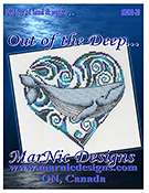 MarNic Designs - For Love of Land & Water - Out of the Deep - Blue Whale THUMBNAIL