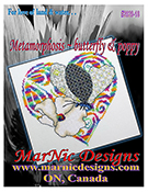 MarNic Designs - For Love of Land & Water - Metamorphosis - Butterfly & Poppy THUMBNAIL