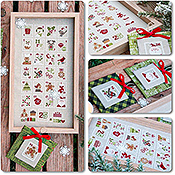Madame Chantilly - Christmas Stamps THUMBNAIL
