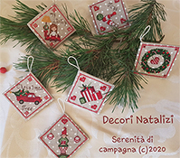 Serenita Di Campagna - Decori Natalizi (Christmas Decorations) THUMBNAIL