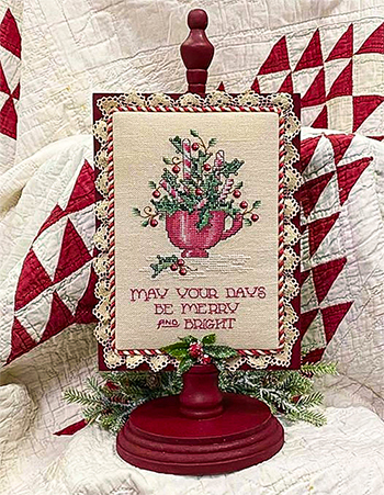 Sue Hillis Designs - Peppermint & Holly MAIN