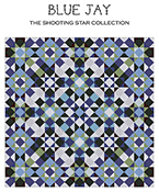Carolyn Manning Designs - The Shooting Star Collection - Blue Jay THUMBNAIL