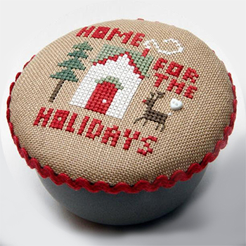 Heart In Hand Needleart - Pocket Round - Holiday Home MAIN