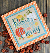 Annie Beez Folk Art - Peace and Plenty THUMBNAIL