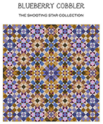 Carolyn Manning Designs - The Shooting Star Collection - Blueberry Cobbler THUMBNAIL