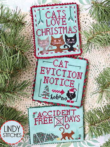 Lindy Stitches - Cats Love Christmas MAIN