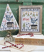 Hello From Liz Mathews - Third Day of Christmas Sampler & Tree THUMBNAIL