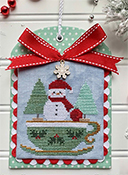 Luminous Fiber Arts - Christmas in the Kitchen - Tea THUMBNAIL