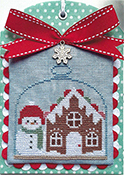 Luminous Fiber Arts - Christmas in the Kitchen - Gingerbread THUMBNAIL
