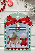 Luminous Fiber Arts - Christmas in the Kitchen - Candy Canes THUMBNAIL
