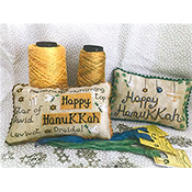 Romy's Creations - Happy Hanukkah Pillows THUMBNAIL