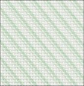 Fabric Flair Candy Stripes Green Aida 14ct