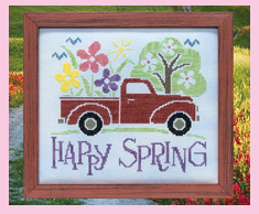 Happy Spring Truck