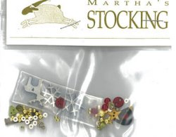 Shepherd's Bush - Martha's Stocking Embellishment Pack MAIN