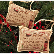 Homespun Elegance - Merry Noel Collection - Avery's Ornament - 2020 Here He Comes THUMBNAIL