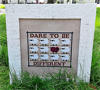 Vintage Needlearts - Dare 2 Be Different MAIN