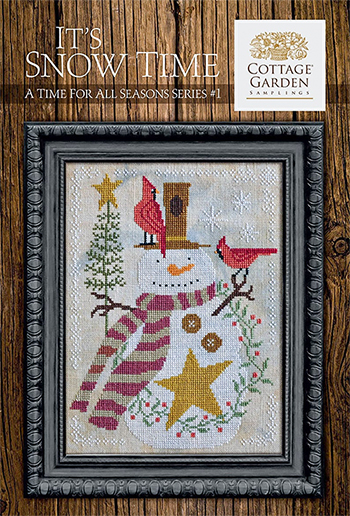 Cottage Garden Samplings - A Time For All Seasons 1 - It's Snow Time MAIN