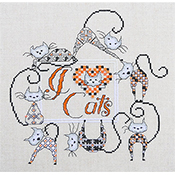 MarNic Designs - I Love... Cats THUMBNAIL