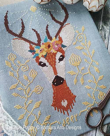 Barbara Ana Designs - Spring Deer MAIN