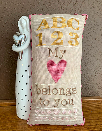 Needle Bling Designs - My Heart Belongs To You MAIN