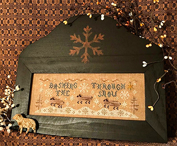 Homespun Elegance - Country Spirits Collection - Dashing Through The Snow MAIN