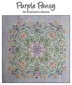 Carolyn Manning Designs - Purple Pansy THUMBNAIL