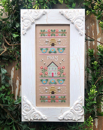 Country Cottage Needleworks - Sampler of the Month - May MAIN