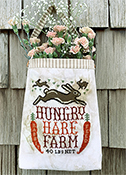 Carriage House Samplings - Hungry Hare Feed Sack THUMBNAIL
