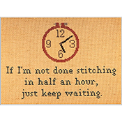 Burdhouse Stitchery - If I Am Not Done Stitching THUMBNAIL